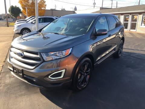 2018 Ford Edge for sale at N & J Auto Sales in Warsaw IN
