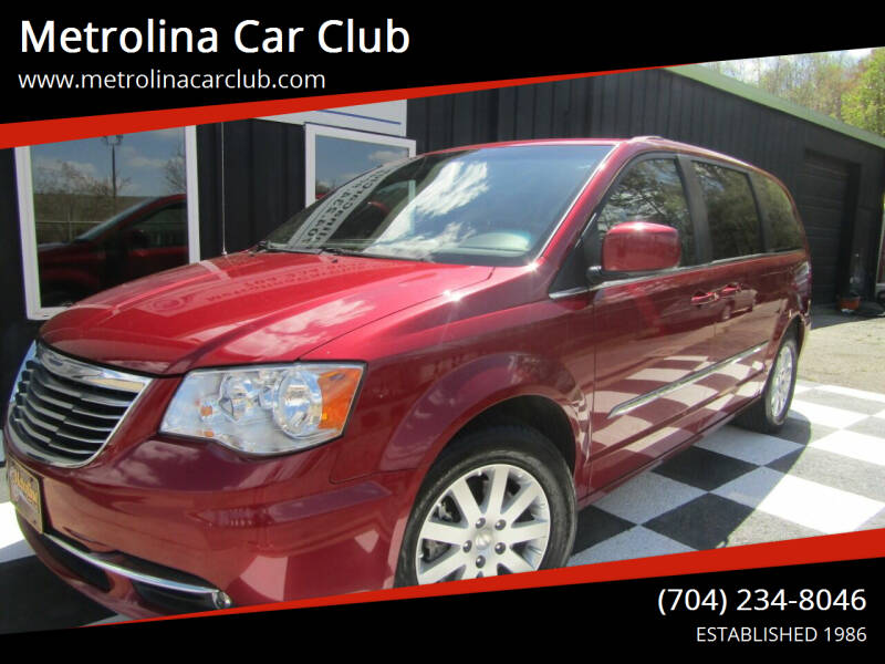 2015 Chrysler Town and Country for sale at Metrolina Car Club in Matthews NC