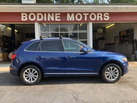 2015 Audi Q5 for sale at BODINE MOTORS in Waverly NY