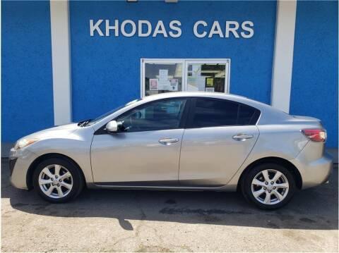 2011 Mazda MAZDA3 for sale at Khodas Cars in Gilroy CA