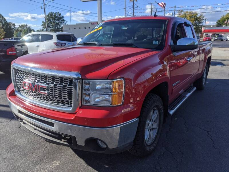 2010 GMC Sierra 1500 for sale at GREAT DEALS ON WHEELS in Michigan City IN