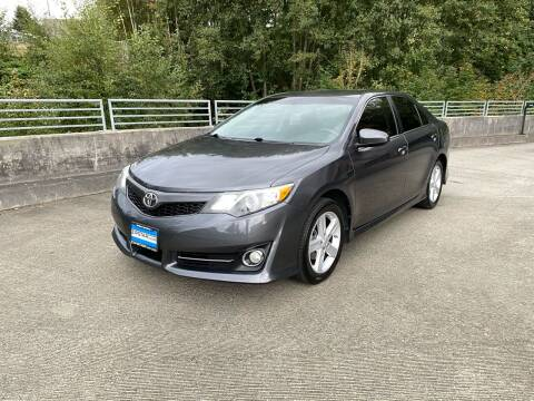 2013 Toyota Camry for sale at Zipstar Auto Sales in Lynnwood WA