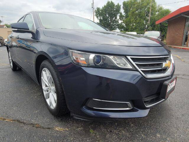 2017 Chevrolet Impala for sale at Dixie Automart LLC in Hamilton OH