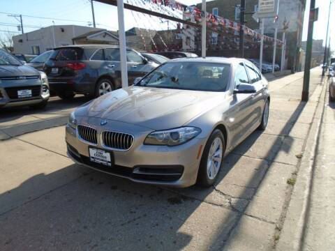 2014 BMW 5 Series for sale at CAR CENTER INC in Chicago IL