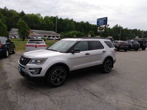 2017 Ford Explorer for sale at Ripley & Fletcher Pre-Owned Sales & Service in Farmington ME