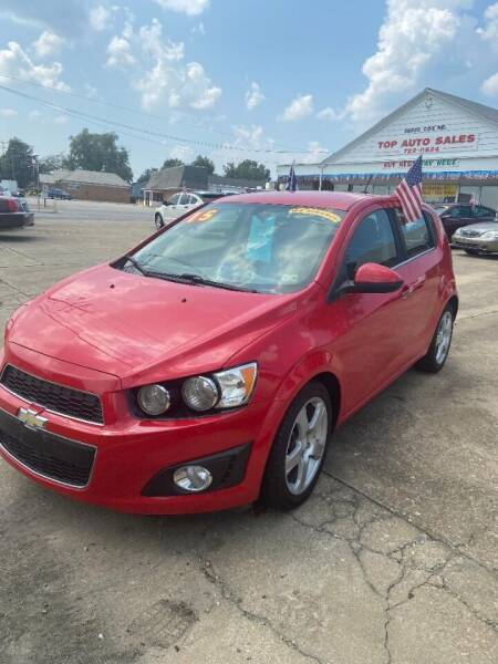 2015 Chevrolet Sonic for sale at Top Auto Sales in Petersburg VA