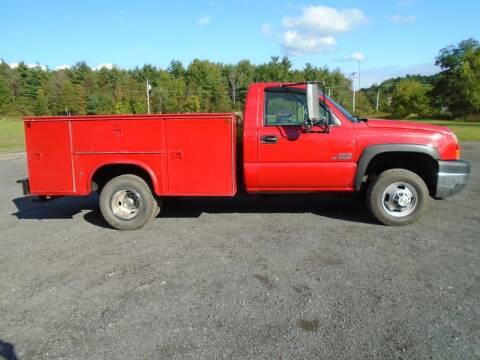 2007 Chevrolet Silverado 3500 DIESEL 4X4 for sale at Celtic Cycles in Voorheesville NY