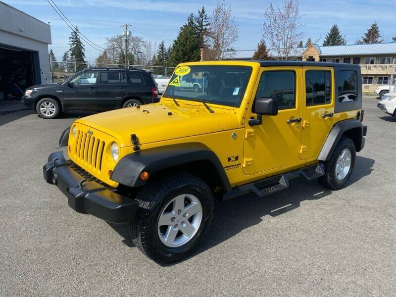 2009 Jeep Wrangler Unlimited for sale at TacomaAutoLoans.com in Lakewood WA