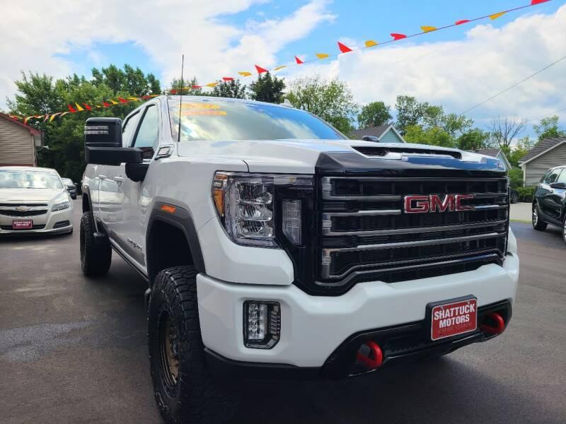 2021 GMC Sierra 2500HD for sale at Shattuck Motors in Newport VT