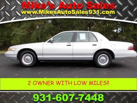 1996 Mercury Grand Marquis for sale at Mike's Auto Sales in Shelbyville TN