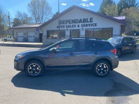 2018 Subaru Crosstrek for sale at Dependable Auto Sales and Service in Binghamton NY