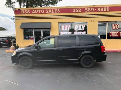 2012 Dodge Grand Caravan for sale at BSS AUTO SALES INC in Eustis FL