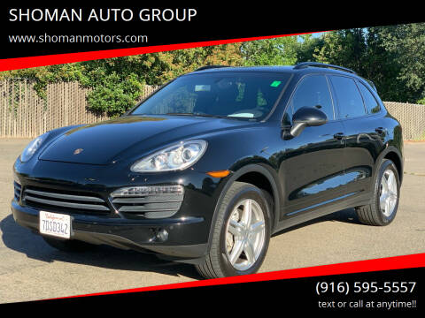2014 Porsche Cayenne for sale at SHOMAN AUTO GROUP in Davis CA