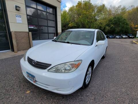2002 Toyota Camry for sale at Fleet Automotive LLC in Maplewood MN