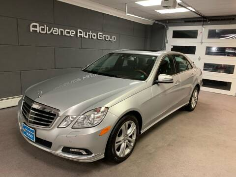 2010 Mercedes-Benz E-Class for sale at Advance Auto Group, LLC in Chichester NH