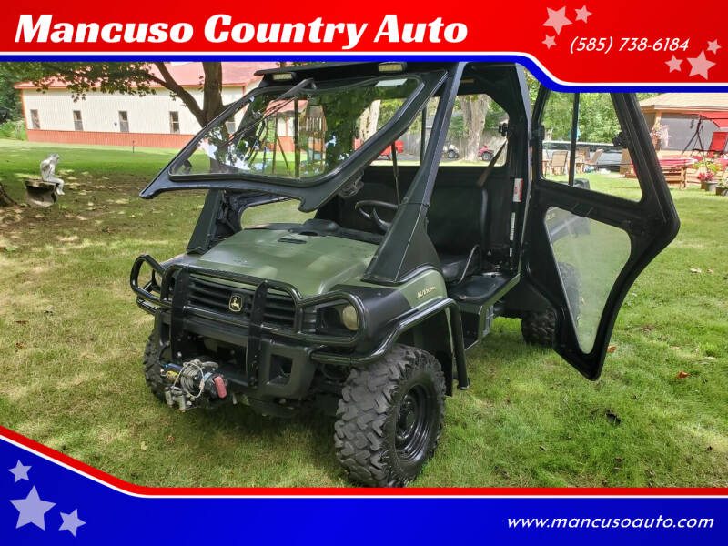 2018 John Deere Gator XUV825M for sale at Mancuso Country Auto in Batavia NY