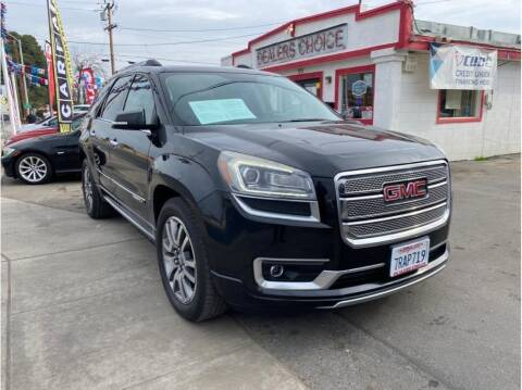 2013 GMC Acadia for sale at Dealers Choice Inc in Farmersville CA