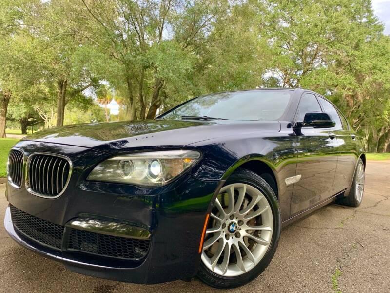 2013 BMW 7 Series for sale at FLORIDA MIDO MOTORS INC in Tampa FL