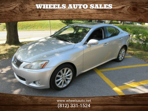 2010 Lexus IS 250 for sale at Wheels Auto Sales in Bloomington IN