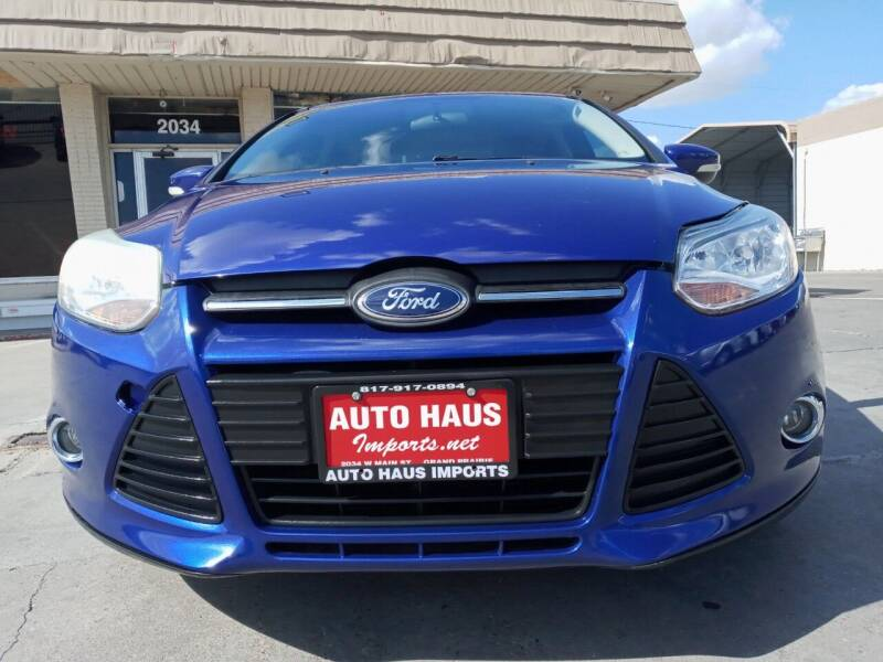 2013 Ford Focus for sale at Auto Haus Imports in Grand Prairie TX