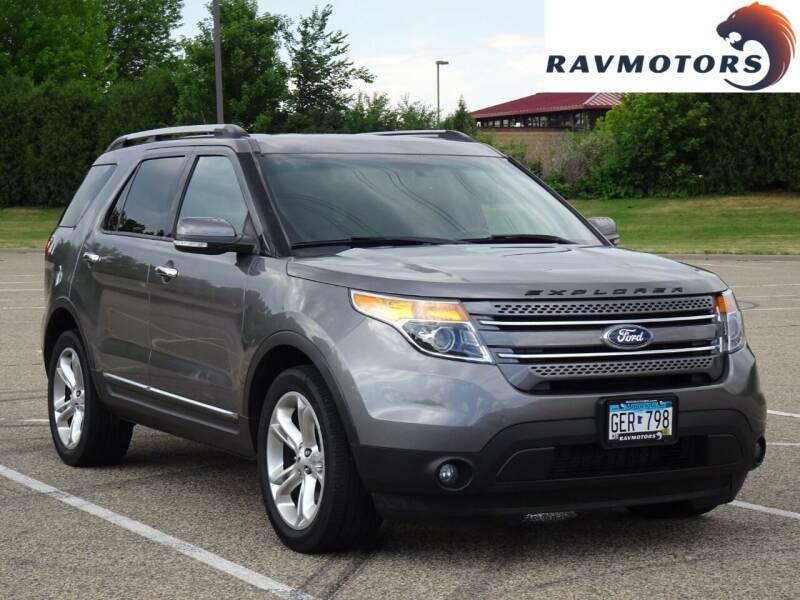 2013 Ford Explorer for sale at RAVMOTORS in Burnsville MN