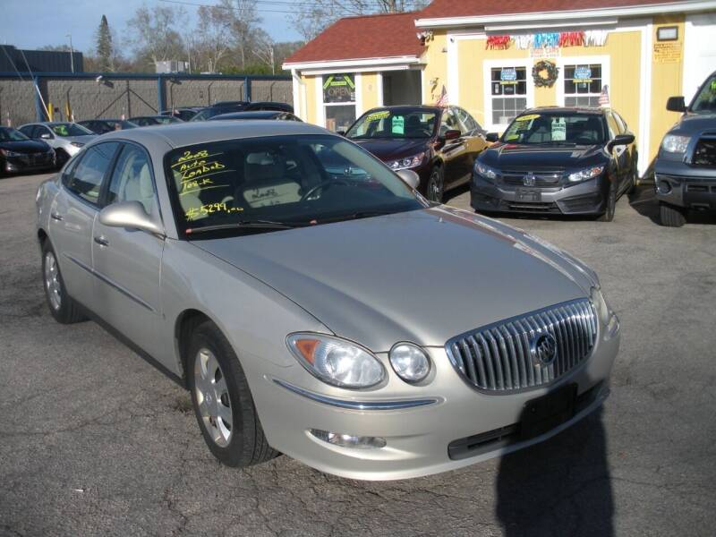 2008 Buick LaCrosse for sale at One Stop Auto Sales in North Attleboro MA