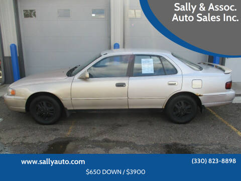 1996 Toyota Camry for sale at Sally & Assoc. Auto Sales Inc. in Alliance OH