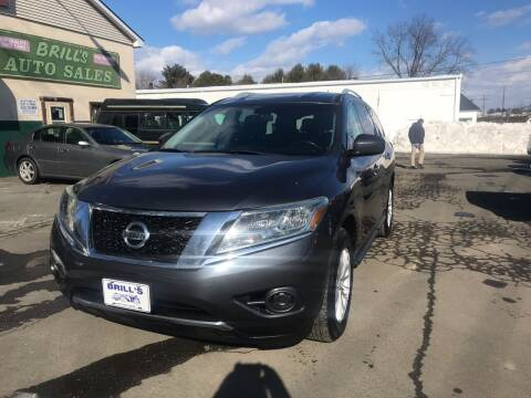 2014 Nissan Pathfinder for sale at Brill's Auto Sales in Westfield MA