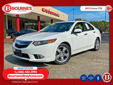 2013 Acura TSX for sale at Bourne's Auto Center in Daytona Beach FL
