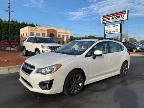 2014 Subaru Impreza for sale at Auto Sports in Hickory NC