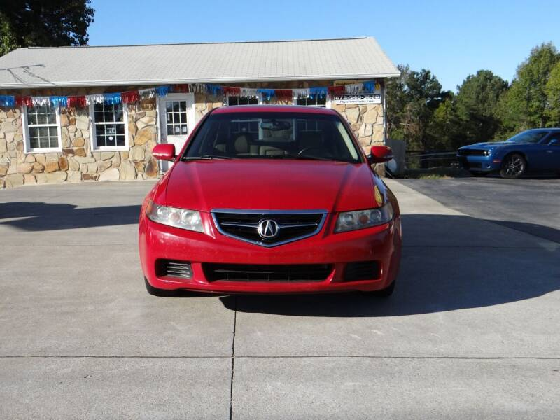 2004 Acura TSX for sale at Flywheel Auto Sales Inc in Woodstock GA