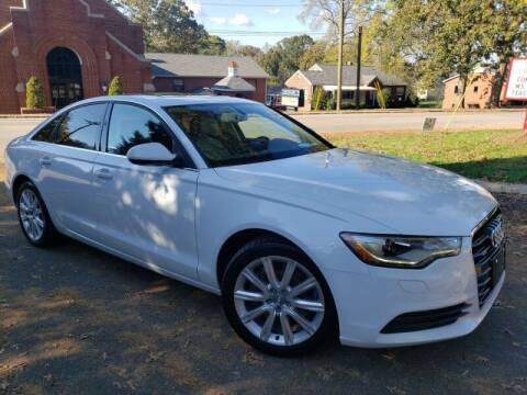 2014 Audi A6 for sale at McAdenville Motors in Gastonia NC