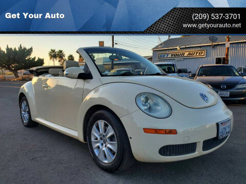 2009 Volkswagen New Beetle Convertible for sale at Get Your Auto in Ceres CA