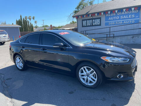 2016 Ford Fusion for sale at Blue Diamond Auto Sales in Ceres CA