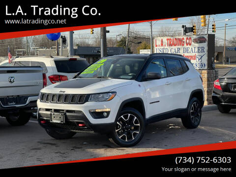 2020 Jeep Compass for sale at L.A. Trading Co. Woodhaven in Woodhaven MI