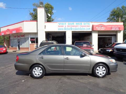 2003 Toyota Camry for sale at Bickel Bros Auto Sales, Inc in Louisville KY