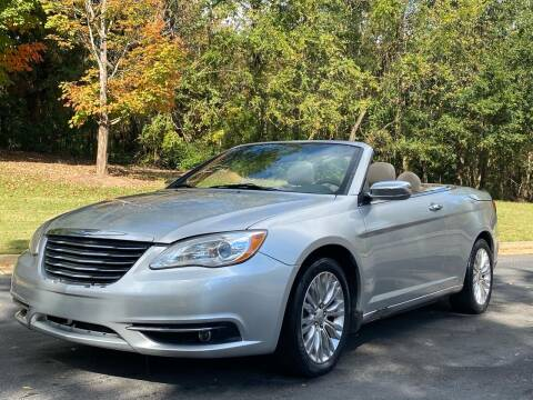 2011 Chrysler 200 Convertible for sale at Top Notch Luxury Motors in Decatur GA