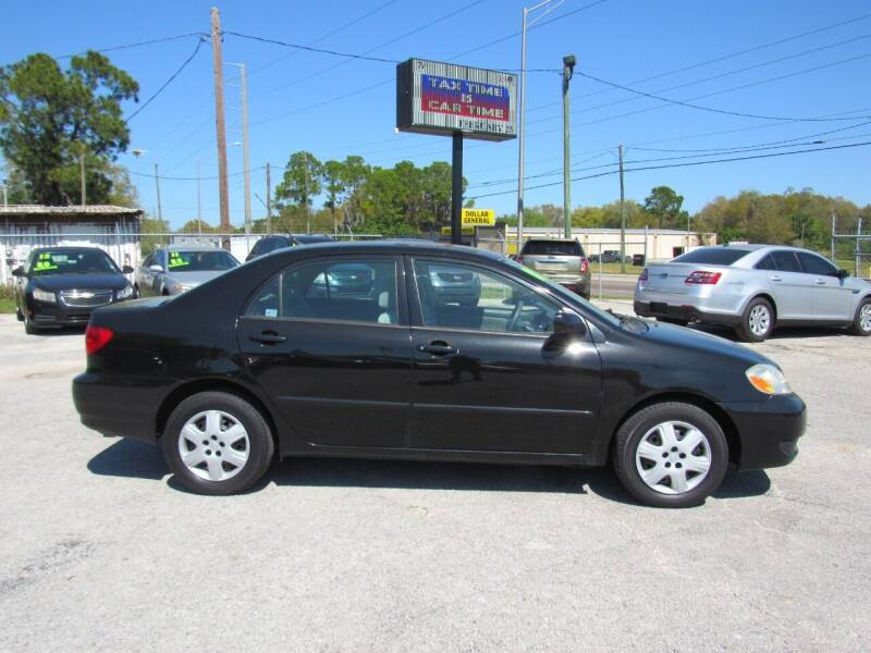 2008 Toyota Corolla for sale at Checkered Flag Auto Sales EAST in Lakeland FL