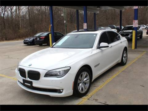 2012 BMW 7 Series for sale at Inline Auto Sales in Fuquay Varina NC