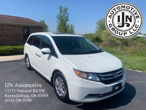 2015 Honda Odyssey for sale at IJN Automotive Group LLC in Reynoldsburg OH