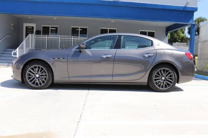 2018 Maserati Ghibli for sale at PERFORMANCE AUTO WHOLESALERS in Miami FL