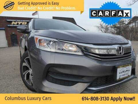 2017 Honda Accord for sale at Columbus Luxury Cars in Columbus OH