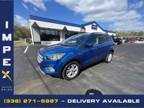 2018 Ford Escape for sale at Impex Auto Sales in Greensboro NC