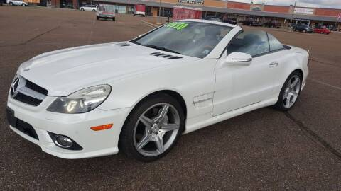 2009 Mercedes-Benz SL-Class for sale at The Auto Toy Store in Robinsonville MS