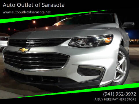 2016 Chevrolet Malibu for sale at Auto Outlet of Sarasota in Sarasota FL