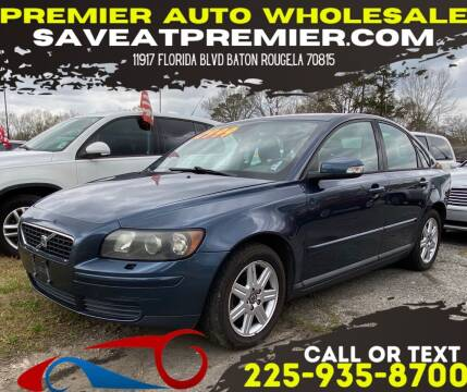 2007 Volvo S40 for sale at Premier Auto Wholesale in Baton Rouge LA