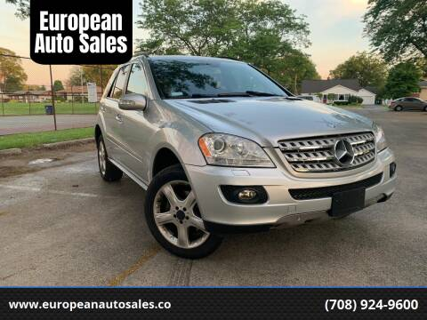 2008 Mercedes-Benz M-Class for sale at European Auto Sales in Bridgeview IL