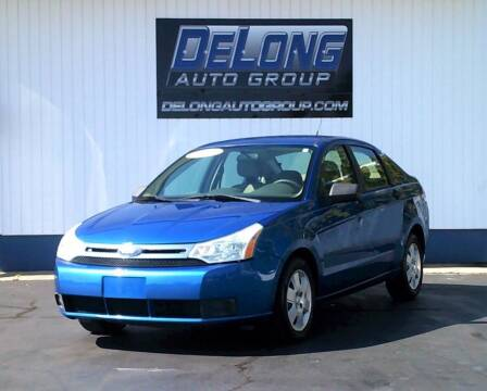 2010 Ford Focus for sale at DeLong Auto Group in Tipton IN