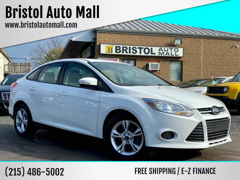 2013 Ford Focus for sale at Bristol Auto Mall in Levittown PA