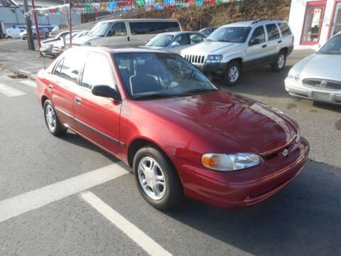 2001 Chevrolet Prizm for sale at Ricciardi Auto Sales in Waterbury CT